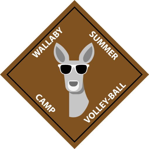 logo wallaby summer camp 2020