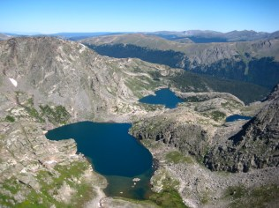 The impressive Auzure and Arrowhead Lakes from Cracktop.