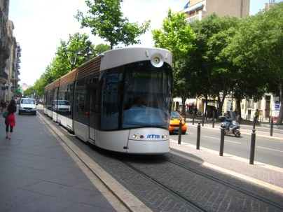 Awesome streetcar on the Cannabierre