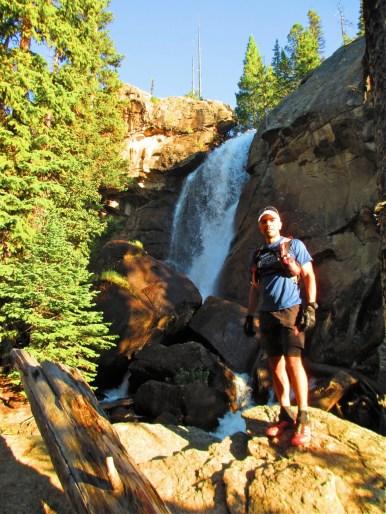 Basit at Ouzel Falls