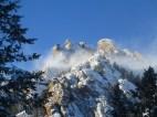 Dinosaur Mountain in the wind