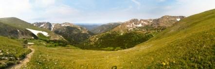 Buchanan Pass looking west