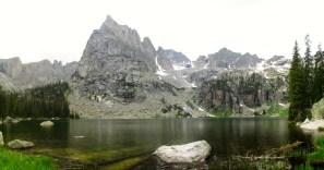 Crater Lake and Lone Eagle Peak