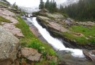 Ribbon Falls. How have I never noticed this before? Oh, because I'm usually here in the winter.