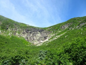 A good view of the Headwall.