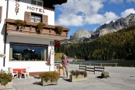 The Sport Hotel Misurina had it all in terms of location.