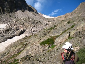 After the steep climb with the rock rats, we found our way through 3/4 of a mile of this wilderness.