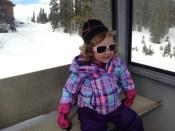 Non-skiing adventure on the Outpost Gondola