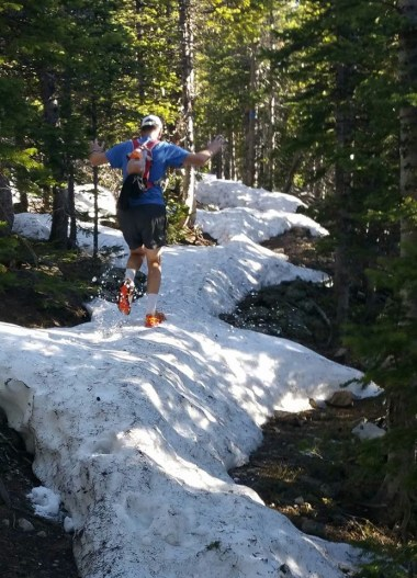June 7th: the high country is NOT ready yet! Sourdough Trail.