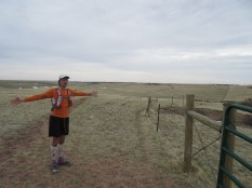 Mile 305: April 23rd, Red Mountain Open Space (crossing state lines)