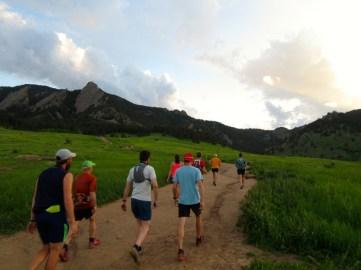 Mile 483: June 1, Jason's farewell night run