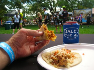 Beer and tacos cure whatever ails you.