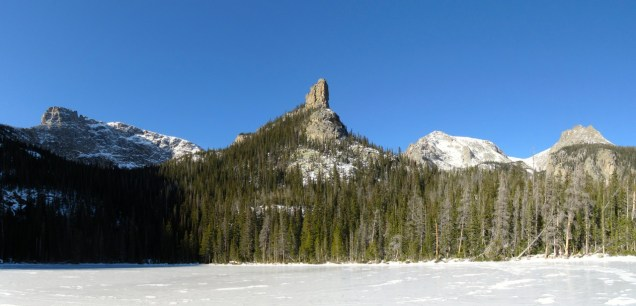 Spruce Lake and Castle Rock