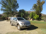 My trusty bakkie at the Rondeberg
