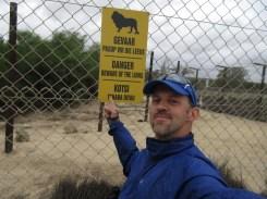 Triply-redundant warning sign.