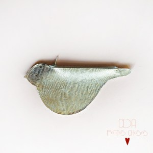 Porte monnaie en cuir oiseaux CDA Petites Choses