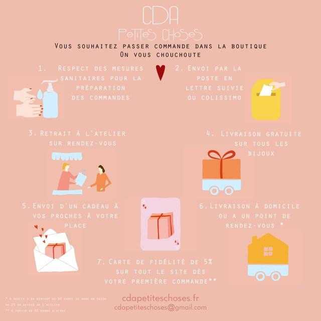 7 bonnes raisons de passer commande dans la boutique CDA Petites Choses : spécial confinement