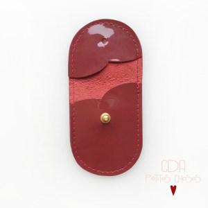 mini-pochette-en-cuir-vernis-rouge-2 CDA Petites Choses