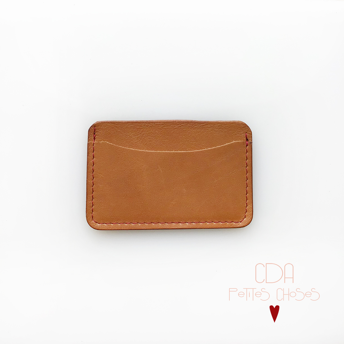 porte-carte-double-en-cuir-sienne-1 CDA Petites Choses