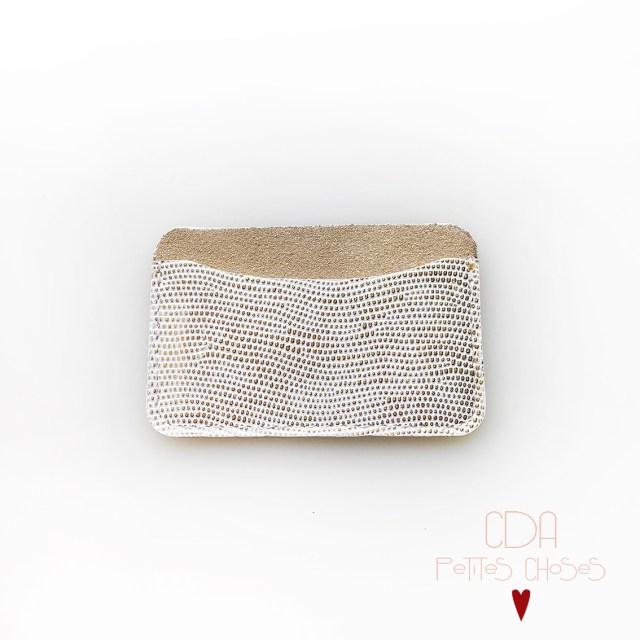 porte-carte-simple-en-cuir-embosse-glauchat-or-1 CDA Petites Choses