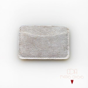 porte-cartes-double-en-cuir-galuchat-or-1 CDA Petites Choses