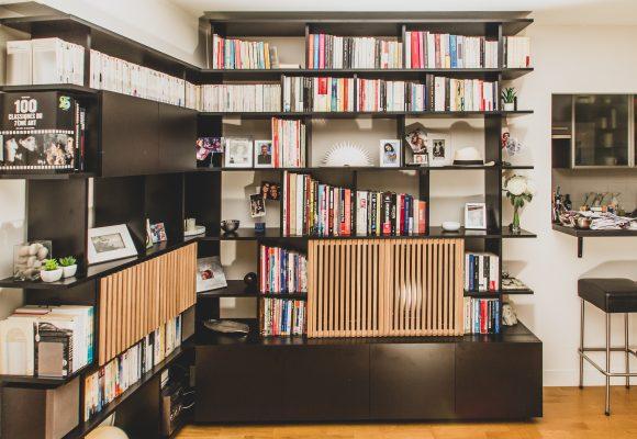 combine bibliotheque meuble tv