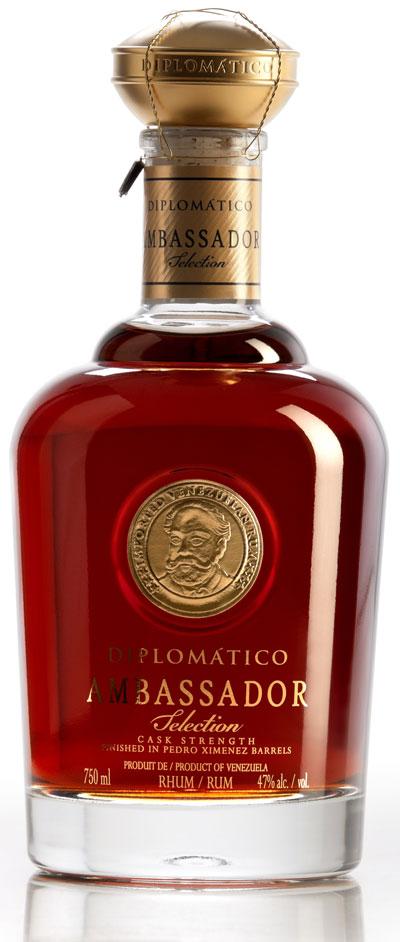 Rum Master Tito Corderos Diplomatico Ambassador Selection