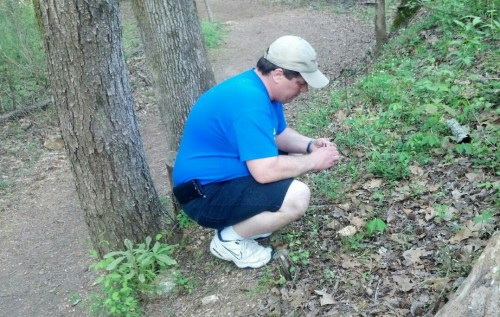 Crazy Dave finding first geocache, About Us