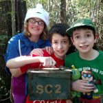 Geocache Found, geocaching