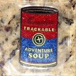 Adventure can Trackable, Geogaching, trackables