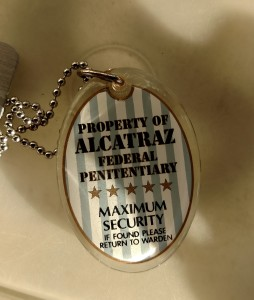 Property of Alcatraz Trackable, trackables, geocaching