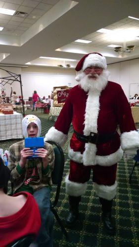 Santa Surprising Nick