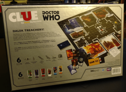 Doctor Who CLUE 2