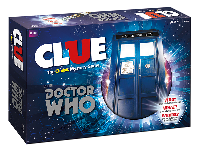 Doctor Who Clue Board Game Review