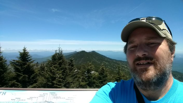On Top of Mount Mitchell, Getting our chickens in a row, church