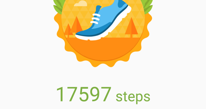 Samsung Health Most Steps, walking it off, weight