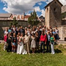 Les photographies de groupes - Colmars-les-Alpes - Mariage