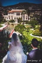 Photographies des Mariés - Vue sur la Villa