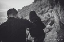 photographies de Couple - Sous la pluie