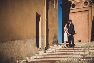 Photographies des Mariés - Escaliers de Menton