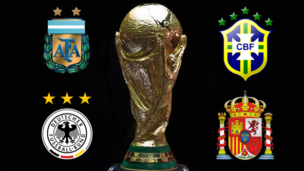 Brasil 2014 arranca el 12 de junio con el encuentro inaugural: Brasil vs Croacia.