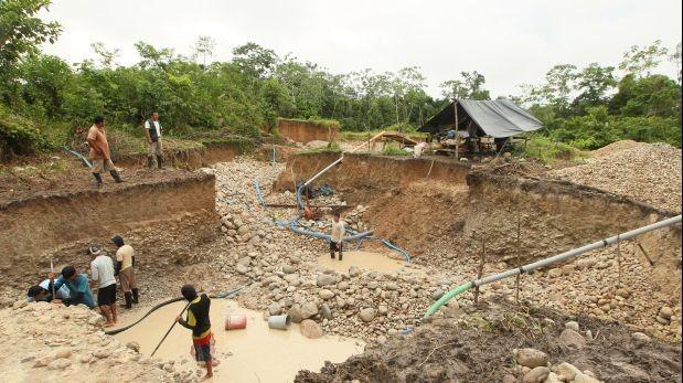Más de 1.200 personas fueron procesadas por minería ilegal