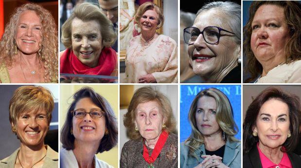Las 10 mujeres más ricas del mundo en 2014, según Forbes