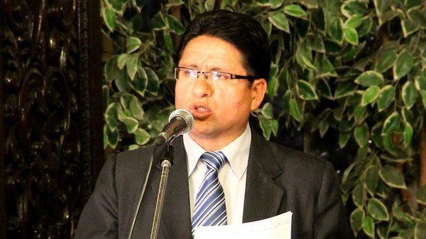 El presidente regional de Pasco fue detenido en Lima