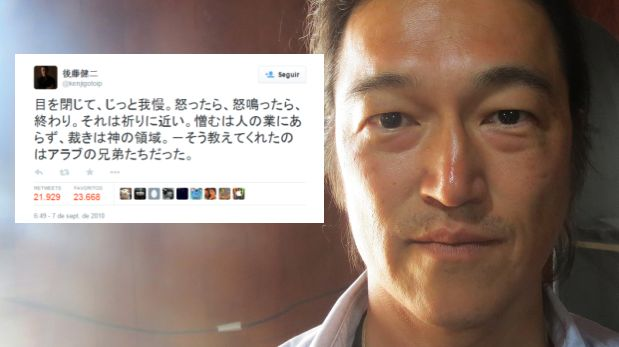 Twitter: tuit de Kenji Goto se viraliza tras su ejecución