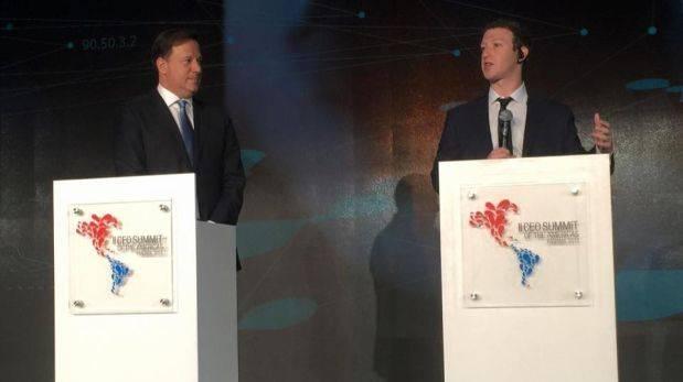 Facebook ofrecerá conexión gratuita a internet a Panamá