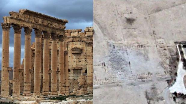 Palmira: Imágenes confirman la destrucción del templo de Baal