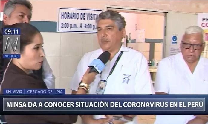 Resultado de imagen para CORONAVIRUS  NOTICIAS PERU