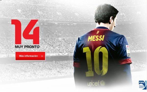 El nuevo FIFA 14 estará inspirado en el FC Barcelona