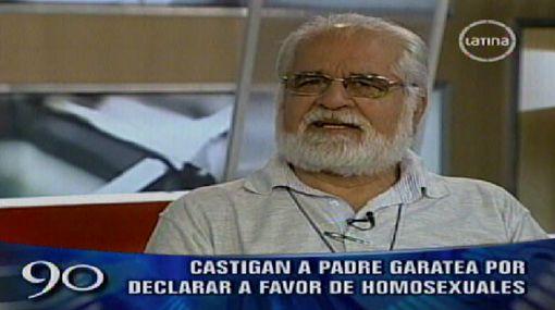 Padre Gastón Garatea fue prohibido de oficiar misas